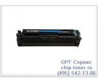 Картридж голубой HP Color LaserJet CP1215 / 1515 / 1518 / CM1312 ,совместимый