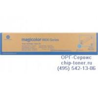 Тонер-картридж голубой Konica Minolta Magicolor 8650DN оригинальный