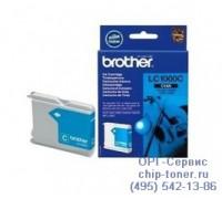 Струйный картридж голубой Brother LC1000C ,оригинальный