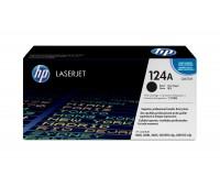 Картридж черный HP Color LaserJet HP 124A Q6000A оригинальный