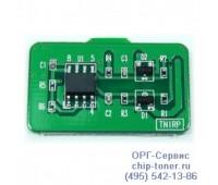 Чип голубого картриджа Samsung CLP-610ND / 660N / 660ND