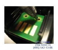 Чип желтого картриджа Lexmark C950 / X950 / X952de / X954de