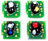 Чип голубого картриджа HP CLJ CP4025 / CP4525