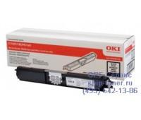 Картридж черный OKI C110 / C130 / MC160 оригинальный