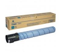 Тонер-картридж голубой Konica Minolta bizhub C454 / C454e / C554,  оригинальный