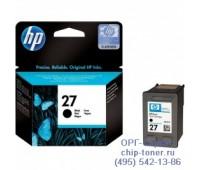 Картридж струйный черный HP 27 оригинальный