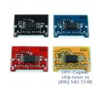 Чип желтого картриджа Samsung CLP-300 / CLX-2160 / 3160